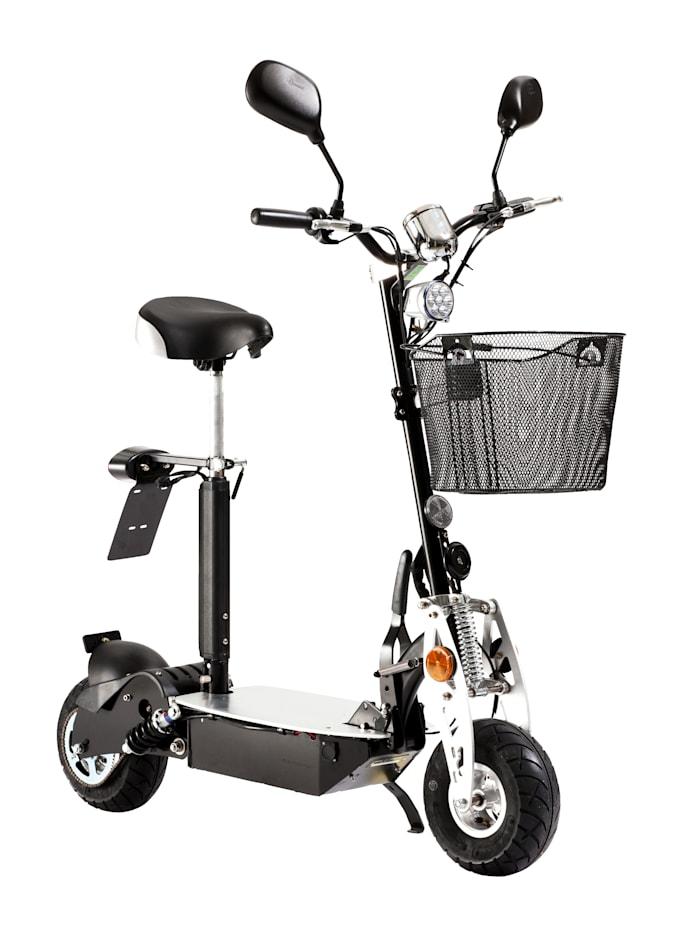 FORCA Elektro City Roller, Safety Plus, zusätzlich mit Lithium, schwarz