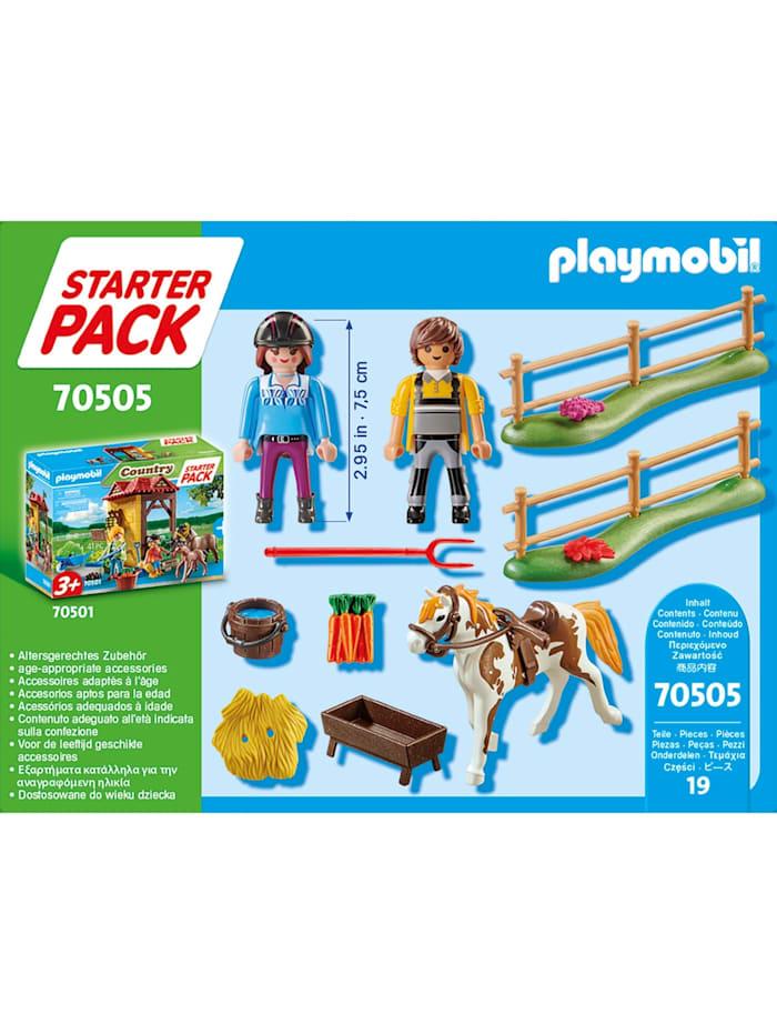 Konstruktionsspielzeug Starter Pack Reiterhof Ergänzungssset