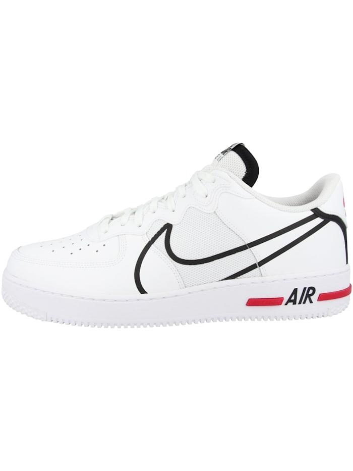 Nike Sneaker low Air Force 1 React, weiss