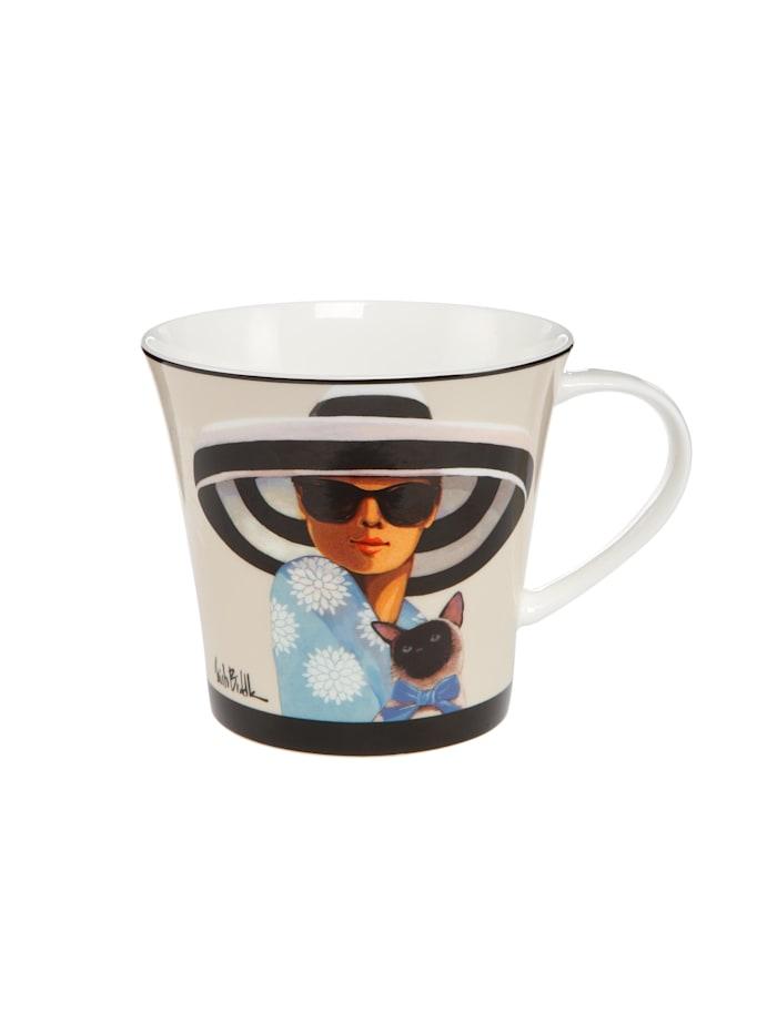 Goebel Goebel Coffee-/Tea Mug Trish Biddle - Big Hat Moon, Biddle - Big Hat Moon