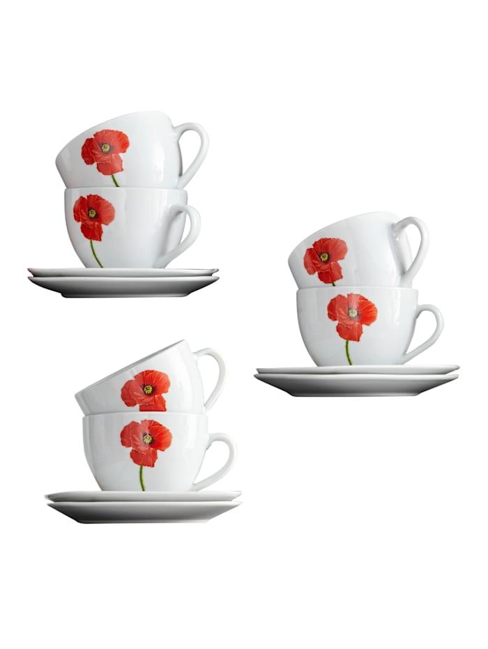 Arte Viva Kaffeservis i 18 delar – San Remo, Flerfärgad
