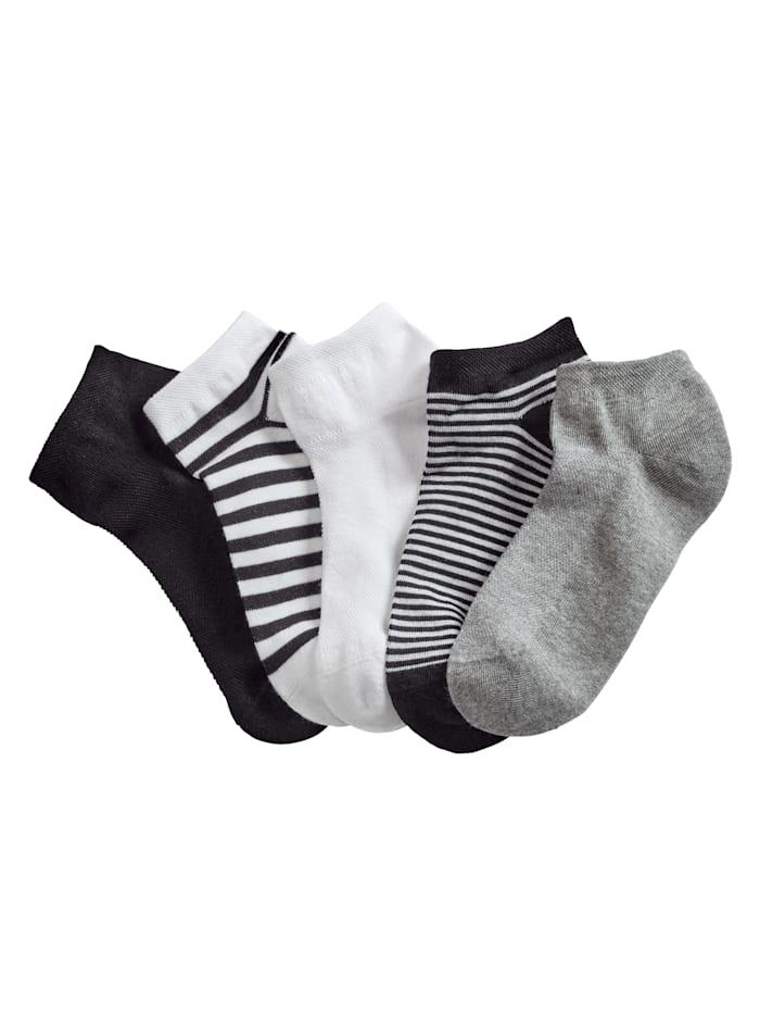 Blue Moon Sneaker ponožky, Čierna
