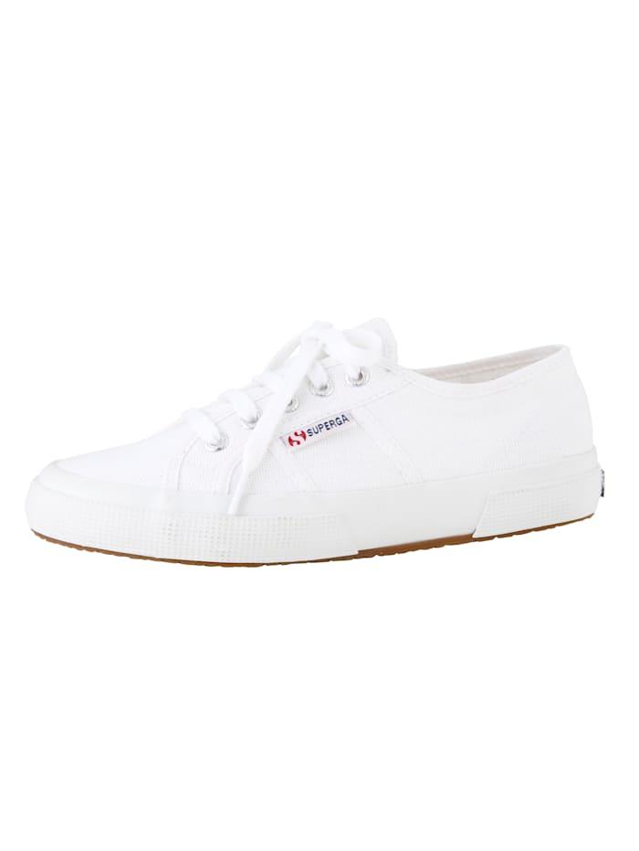 Superga Schnürschuh, Weiß
