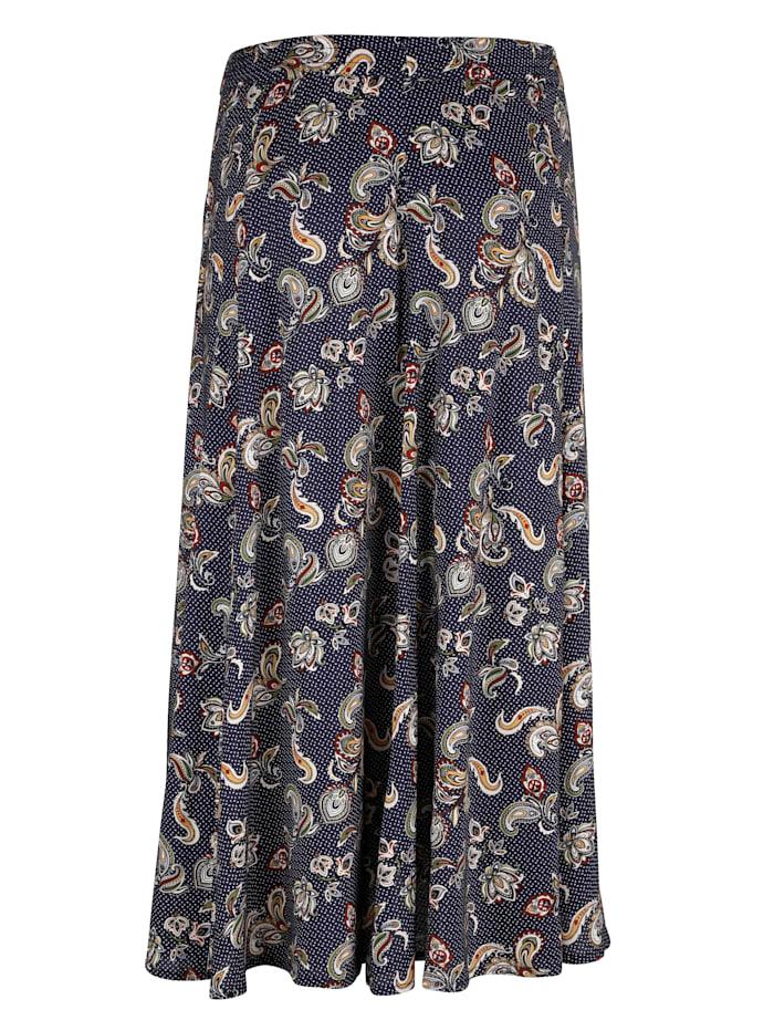 Kjol med härligt mönster