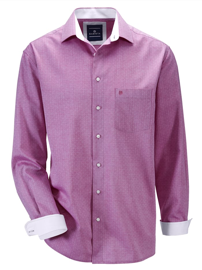 BABISTA Hemd in bügelfreier Qualität, Rosé