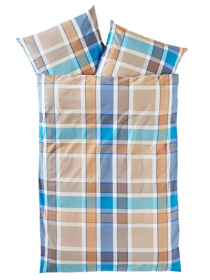 Webschatz 2-delige set bedlinnen Olle, Blauw