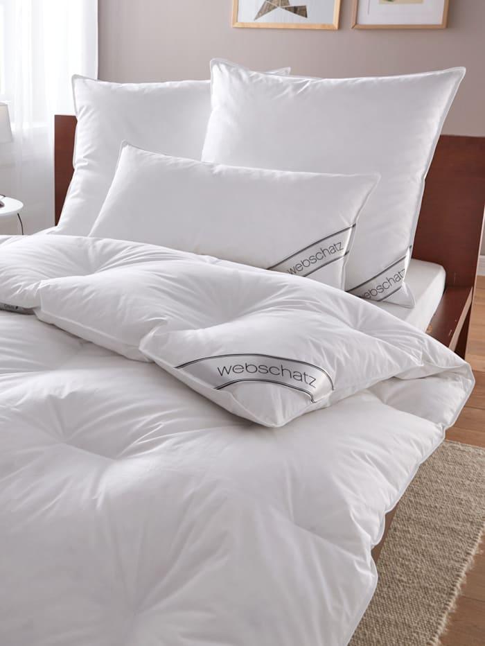 Webschatz 4-delige set bedlinnen, wit