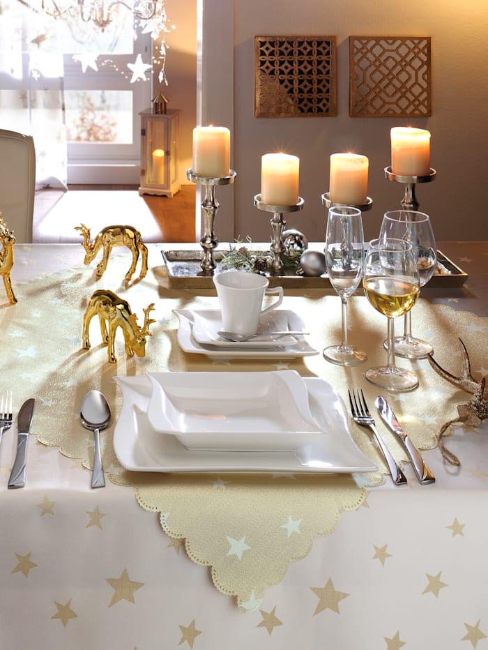 Webschatz Tischwäsche, goldfarben