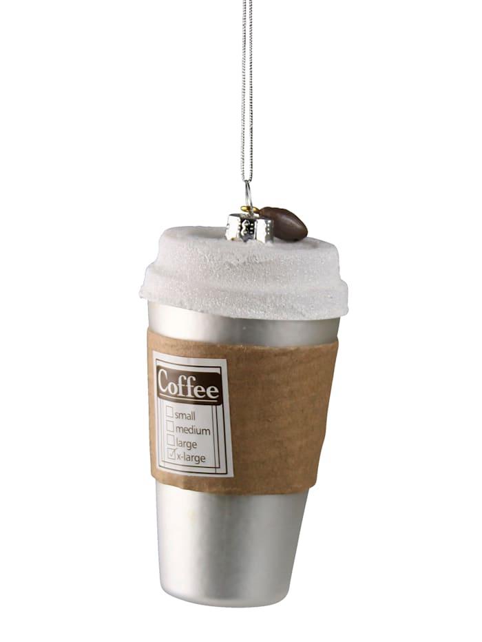AM Design Hänger, Kaffeebecher, Silberfarben