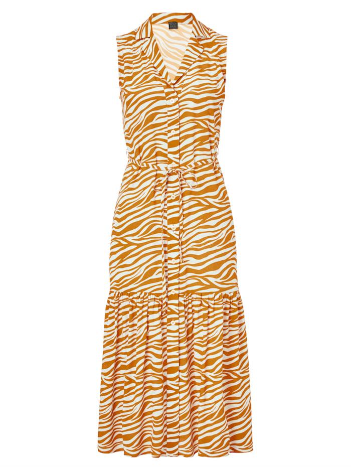 REKEN MAAR Kleid, Orange