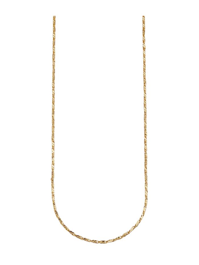 Halskette in Gelbgold 375, Gelbgoldfarben