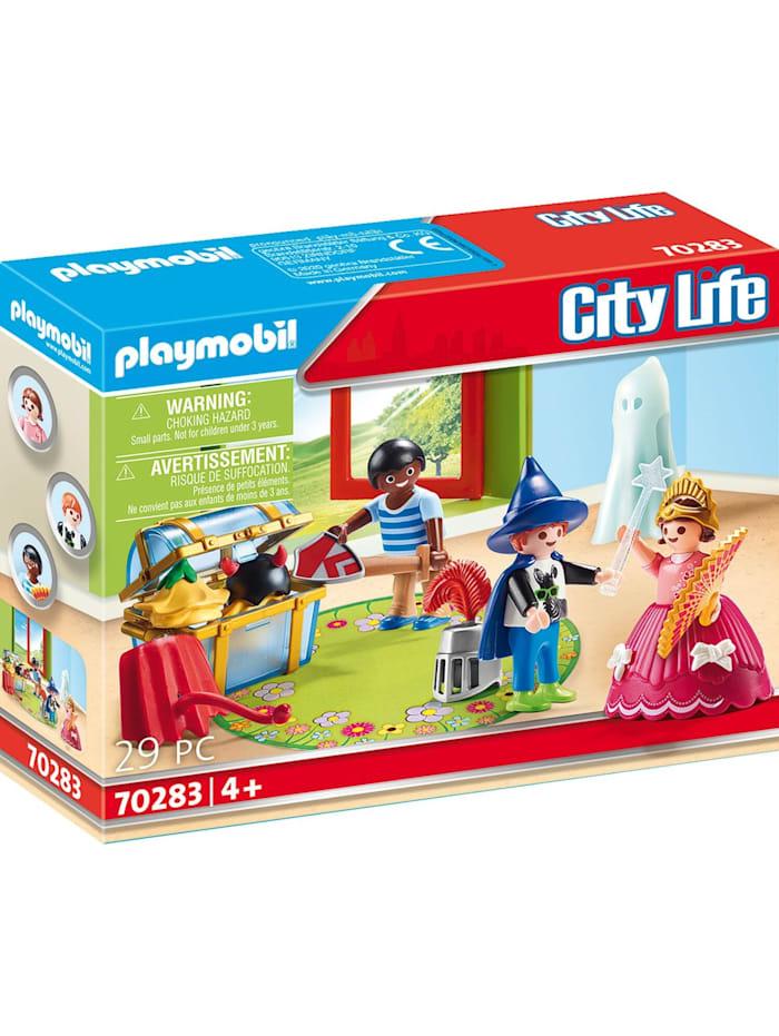 PLAYMOBIL Konstruktionsspielzeug Kinder mit Verkleidungskiste, bunt/multi