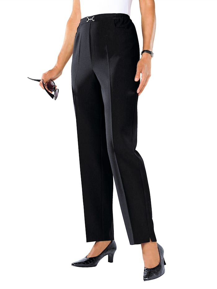 Nohavice s deliacim šitím