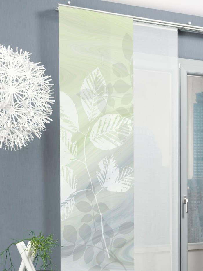 Home Wohnideen Paneelgordijn Toupillon, groen
