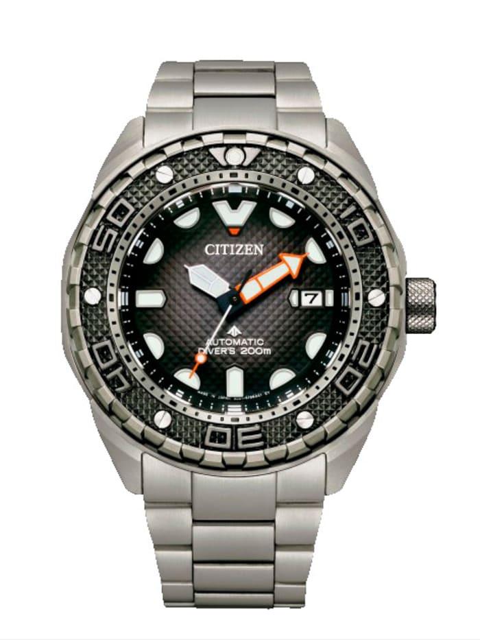 Citizen Herren-Automatikuhr NB6004-83E, Silberfarben