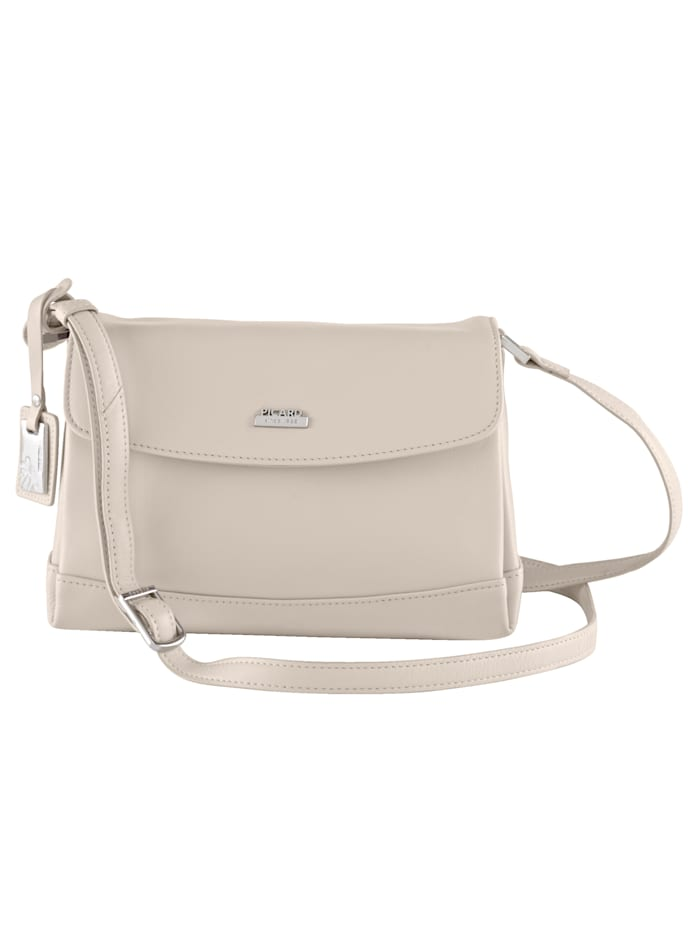 Picard Shoulder bag with fine Picard pendant, Offwhite