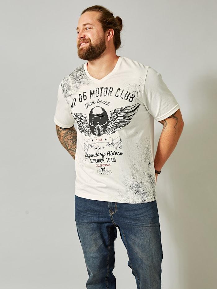 Men Plus T-shirt, Wolwit