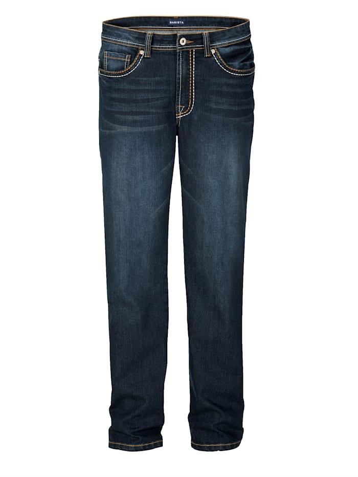 BABISTA Jeans mit dicken Nähten, Blau