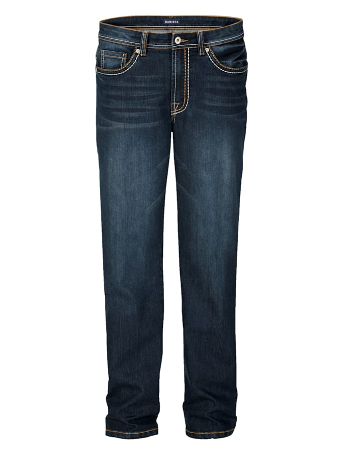 BABISTA Jeans in 5-pocketmodel, Blauw