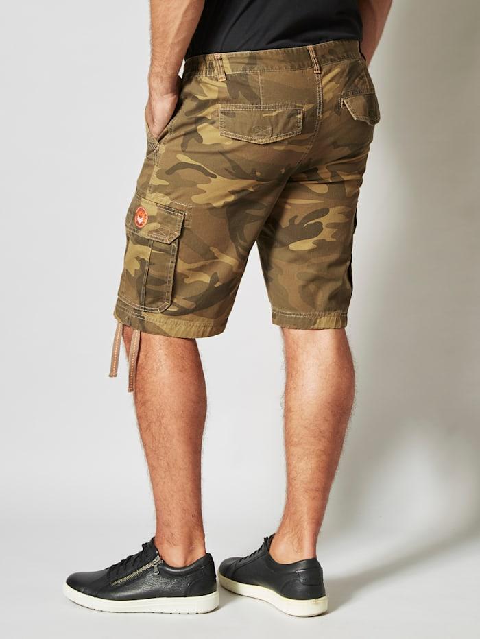 Cargobermuda in camouflagelook