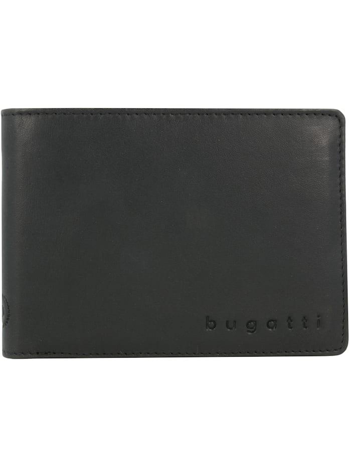 Bugatti Primo RFID Geldbörse Leder 12 cm, schwarz