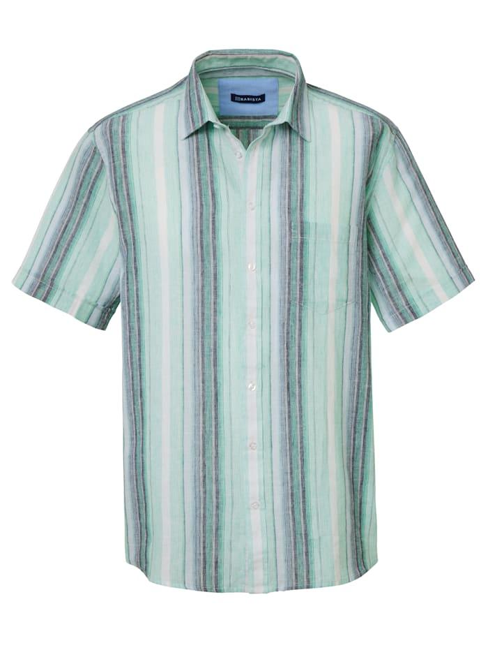 Skjorte med lin
