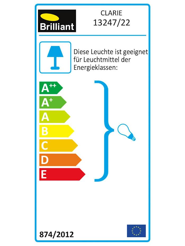 Clarie Tischleuchte eisen/grau