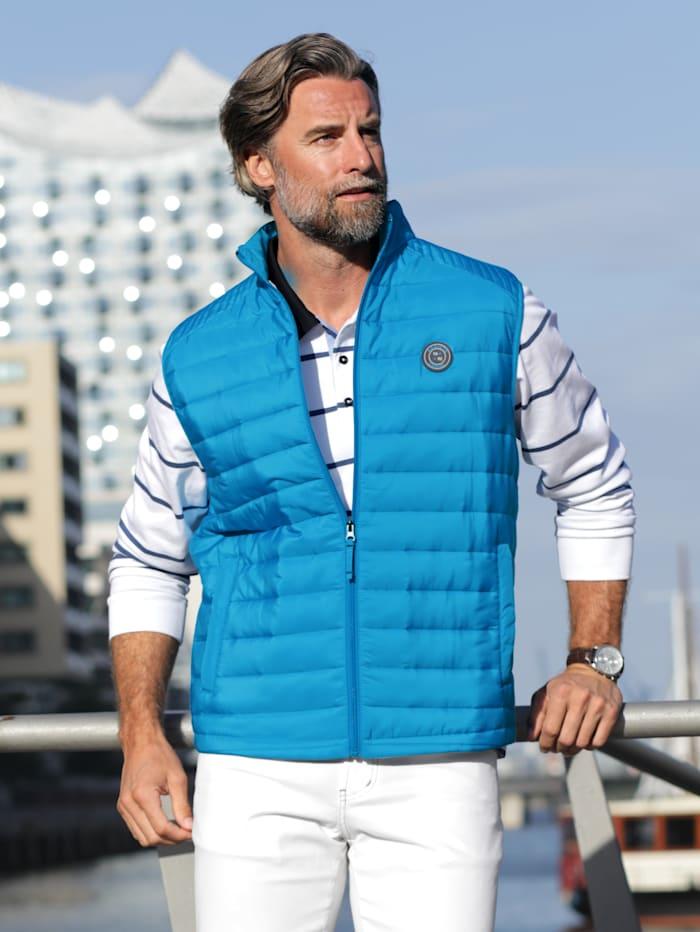 BABISTA Bodywarmer met praktische zakken, Turquoise