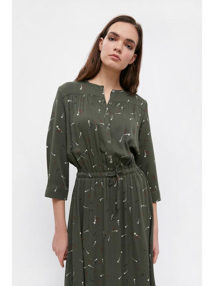 Maxi-Kleid mit floralem Muster