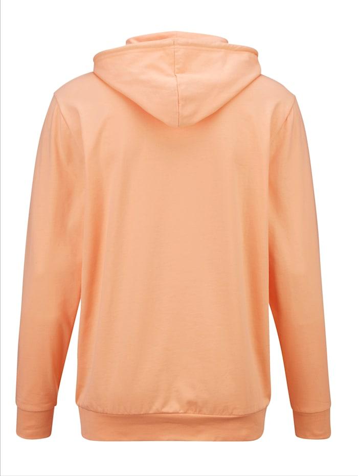 Sweatshirt in modieuze hoodystijl
