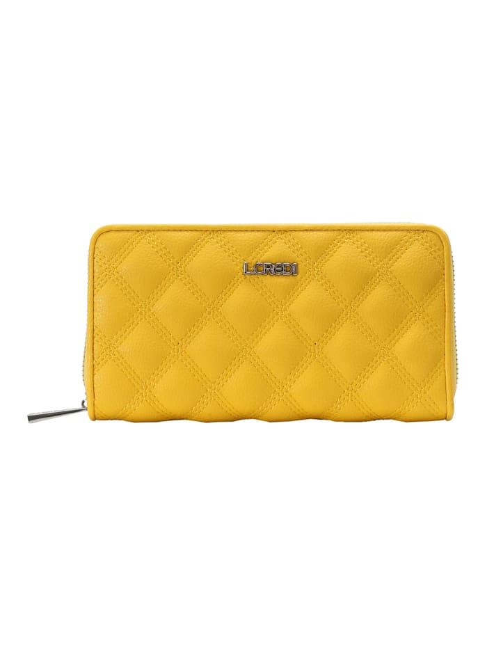 L.Credi Geldbörse Giulietta, lemon