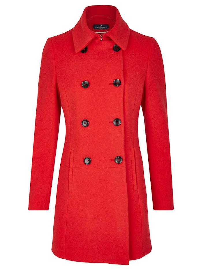 Eleganter Mantel mit zweireihiger Knopfleiste