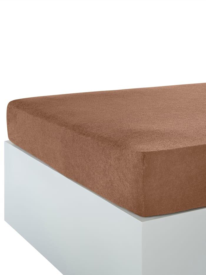 Webschatz Strekklaken i forskjellige farger, brun