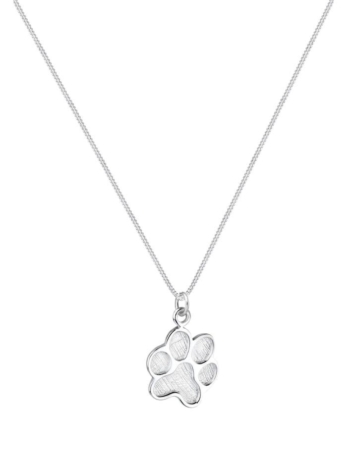 Halskette Pfote Hund Katze Tierfreund 925 Sterling Silber