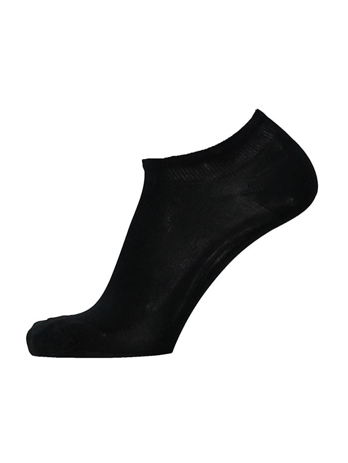Esda Sneakersokken, Zwart