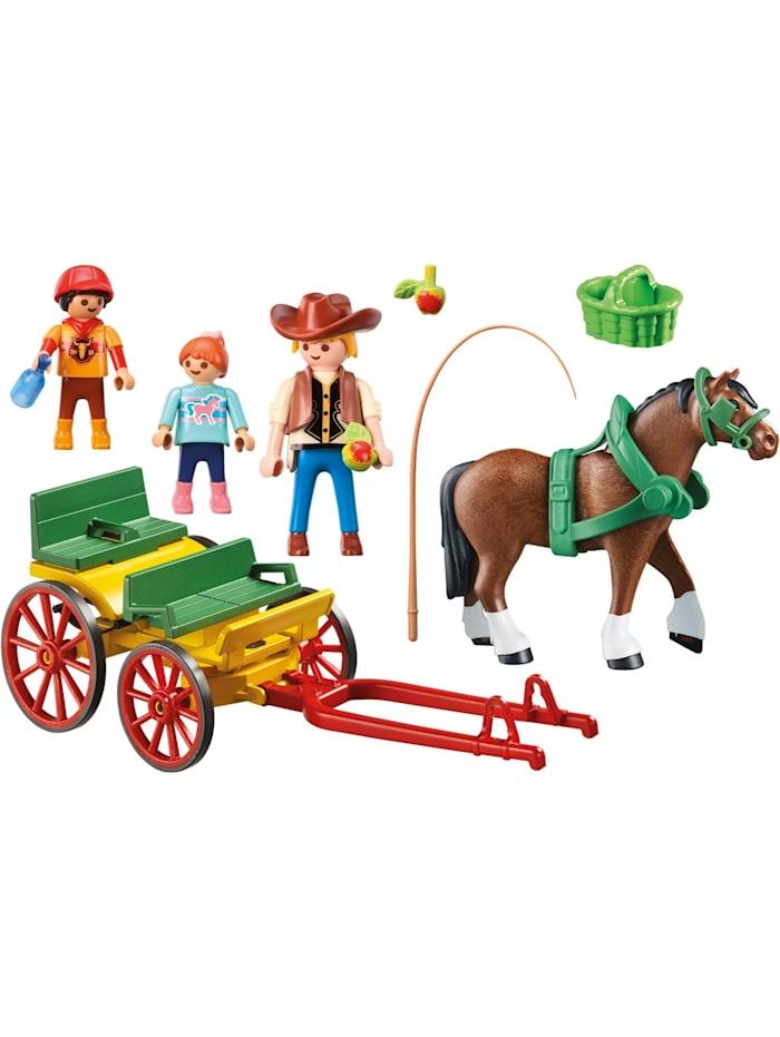 Konstruktionsspielzeug Pferdekutsche