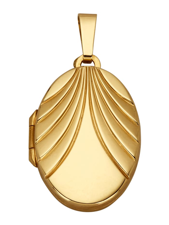 Diemer Gold Hanger Medaillon, Geelgoudkleur