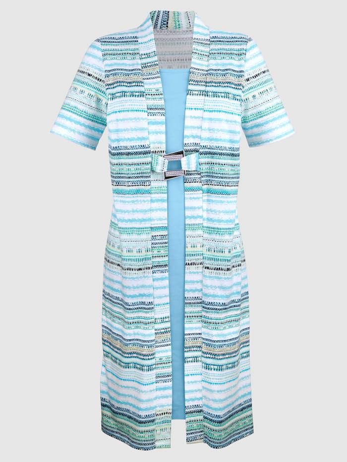Kleid in 2in1 Optik