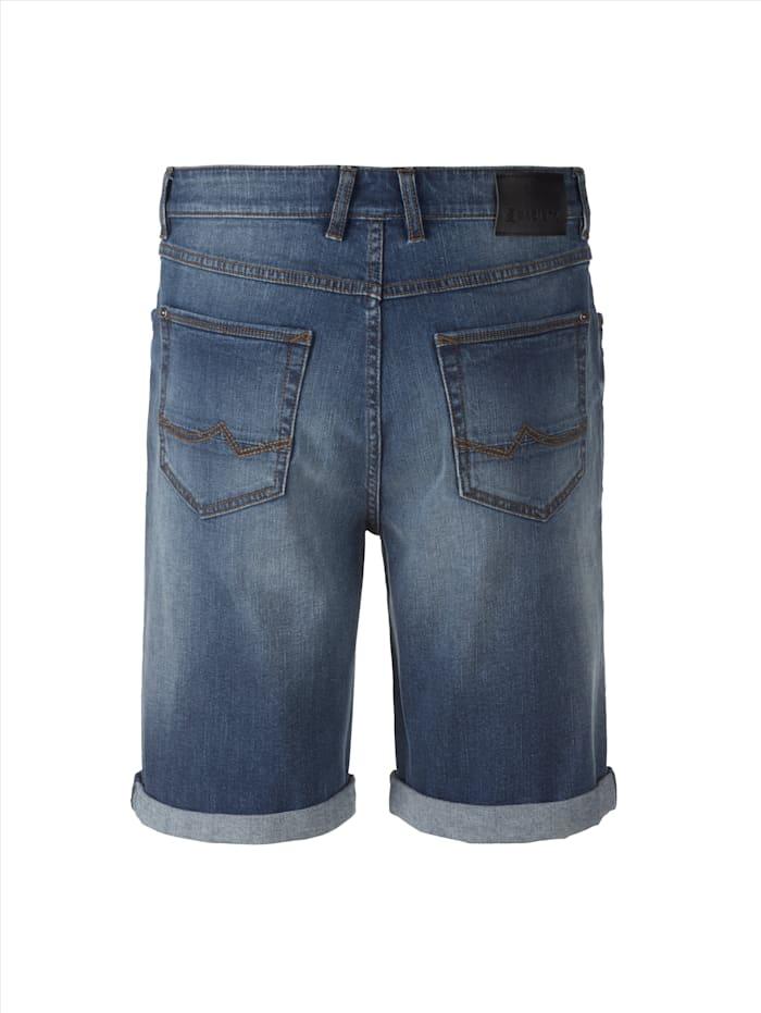 Jeansbermuda in sportiver 5-Pocket-Form
