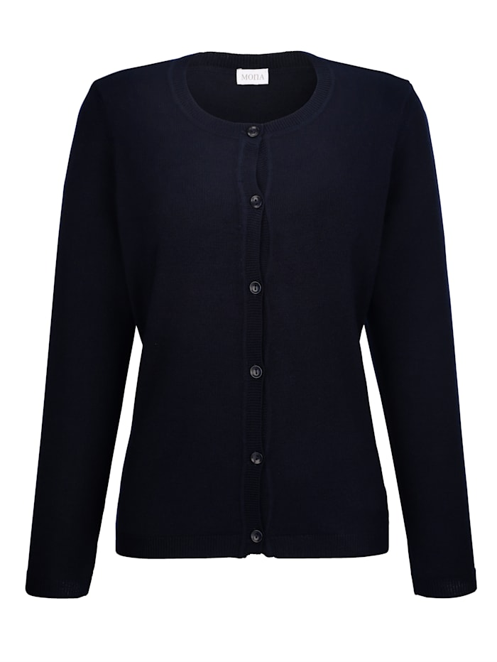 Cardigan made from a premium-quality fabric