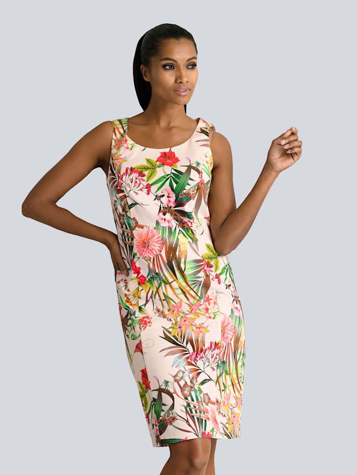 Kleid im wunderschönen Blumdendruck allover