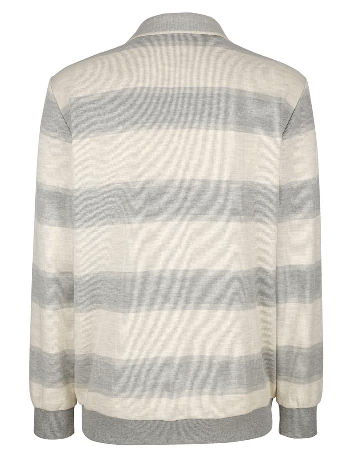 Sweat-shirt à motif rayé