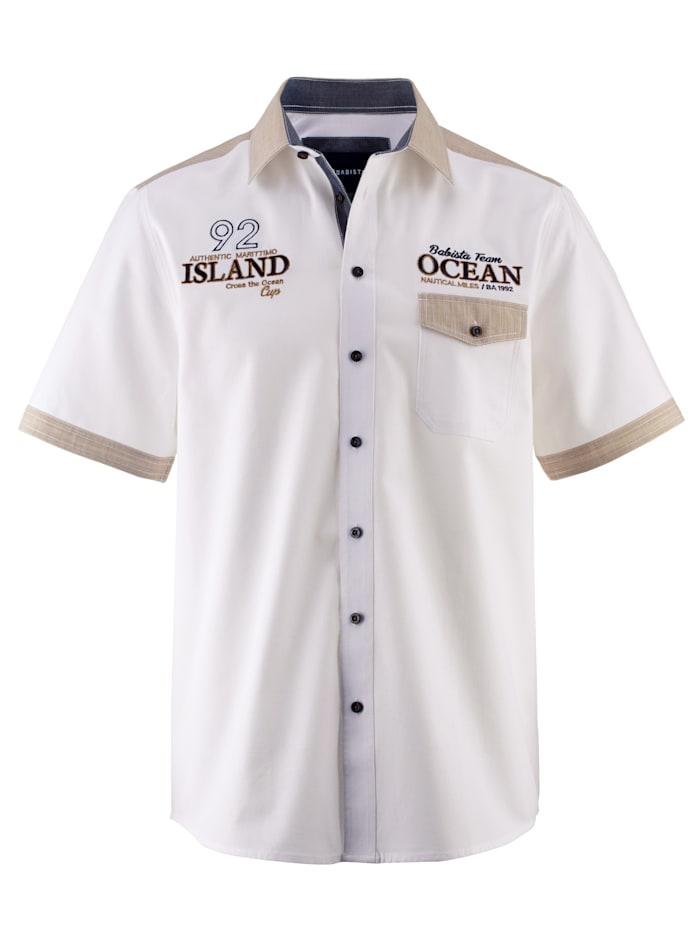 BABISTA Košeľa z čistej bavlny, Biela