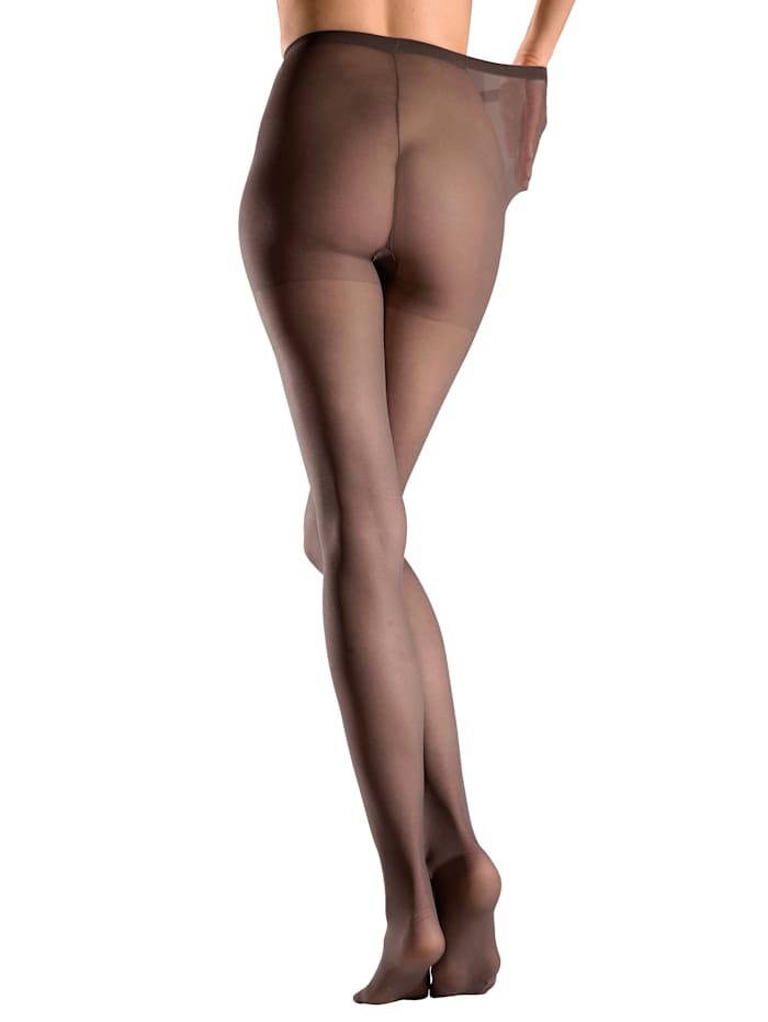 Collants fins avec gousset d'aisance