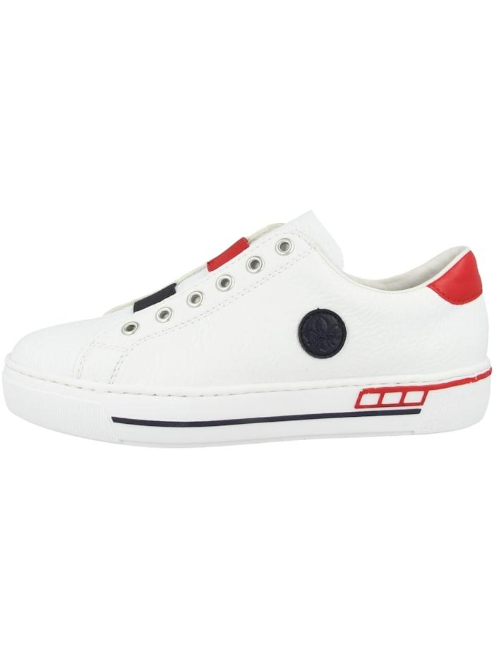 Rieker Sneaker low L8870, weiss