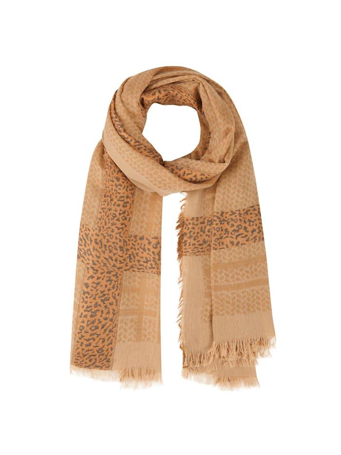 Codello Softer Oversized-Schal mit Viskose, camel
