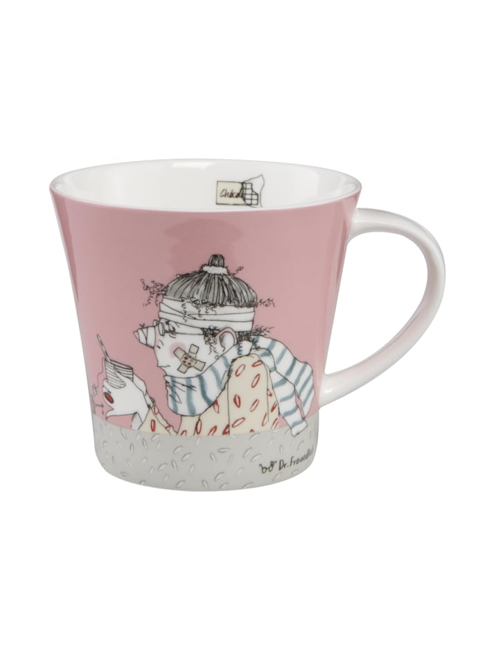 Goebel Goebel Coffee-/Tea Mug Barbara Freundlieb - Get Better, Bunt