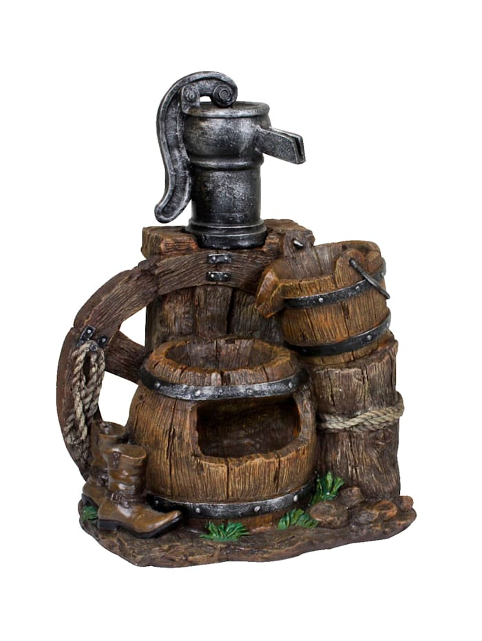Harms Brunnen, Braun