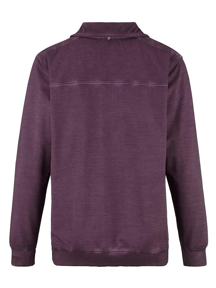 Sweat-shirt d'aspect délavé