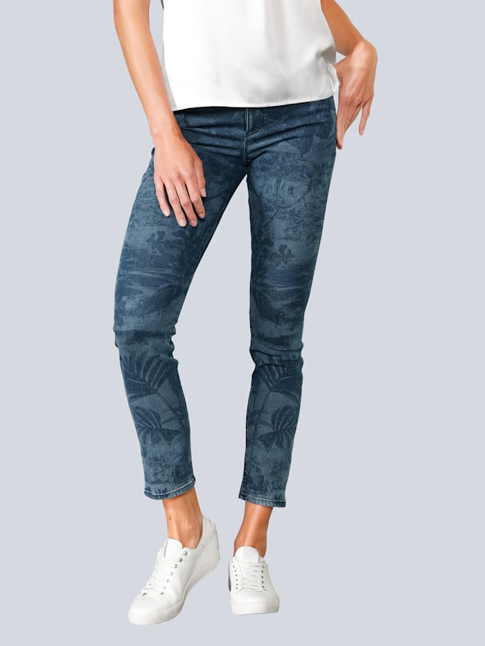 BRAX Jeans 'Shakira' aus super stretch Denim, Blue stone